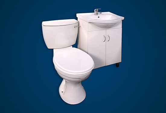 GEZA Basin and Toilet Unit