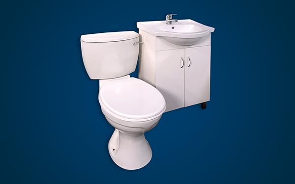 GEZA Basin and Toilet Unit