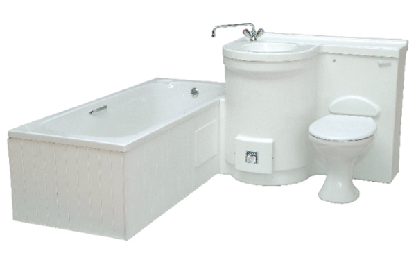 Basin Toilet Amp Bath With Geyser Bathrom Units