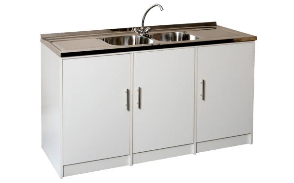 Double Bowl Sink Unit - GEZA Sink Units