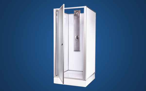 Beau GEZA Square ABS Shower Cubicle