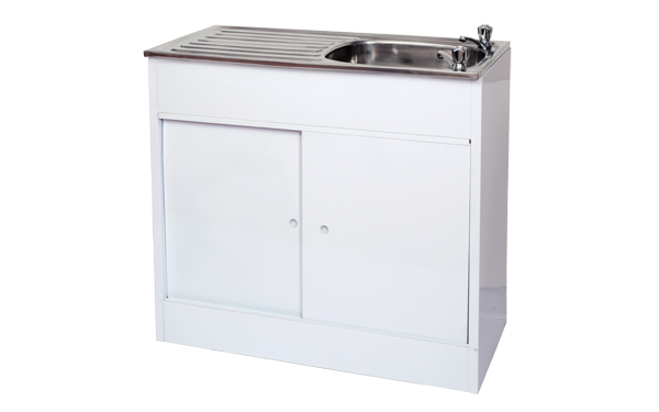 Steel sink unit kitchen sink unit geza for Cheap kitchen cabinets gauteng