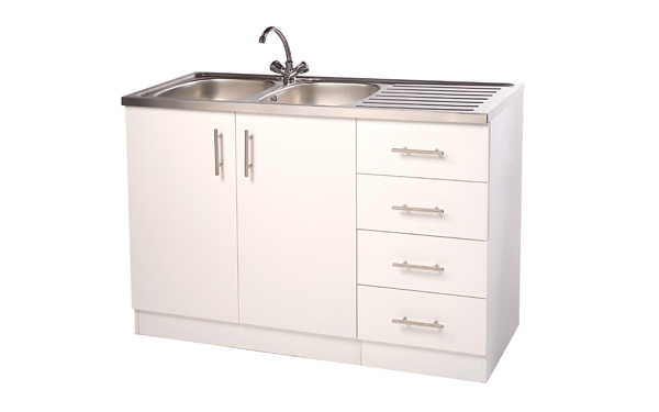 Double Bowl Sink Unit Kitchen Sink Units