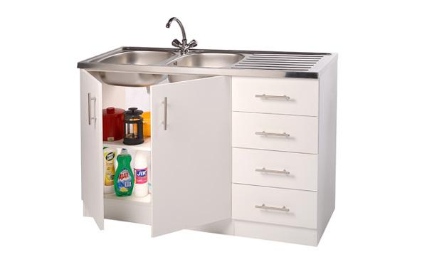 Double Bowl Sink Unit - Kitchen Sink Units