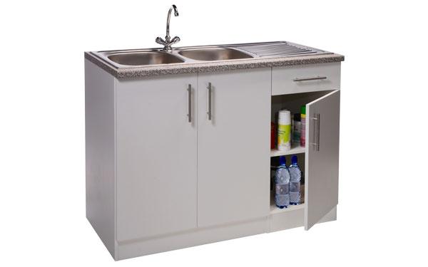 Double Bowl Sink Unit Kitchen Sink Units