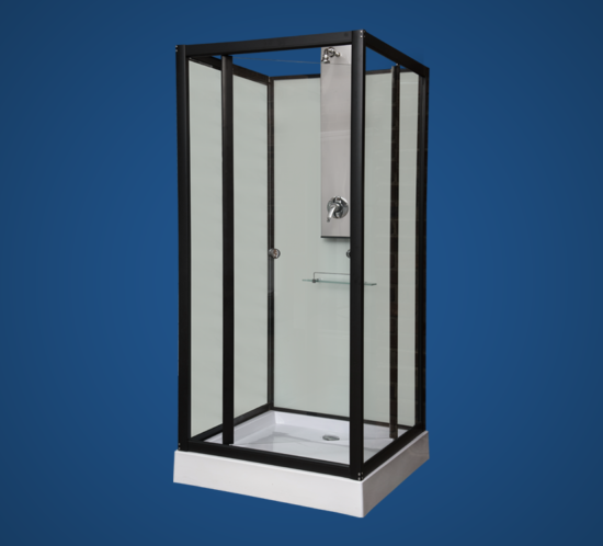 SQUARE ABS SHOWER CUBICLE